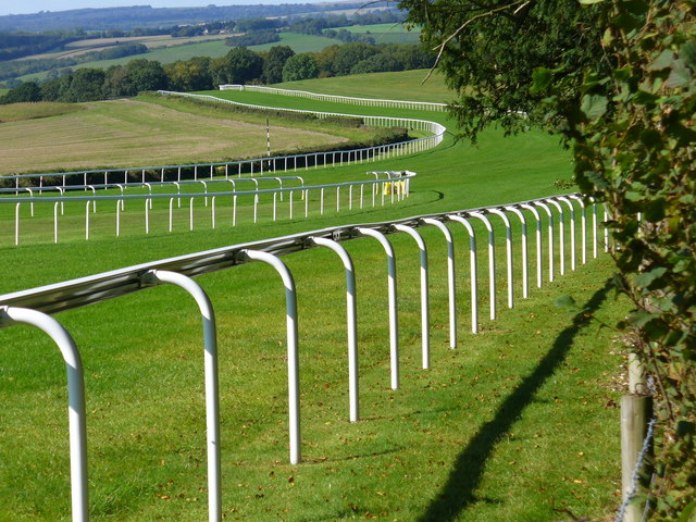 Glorious Goodwood looks peaceful now, but soon it will be brimming with intense horse racing action