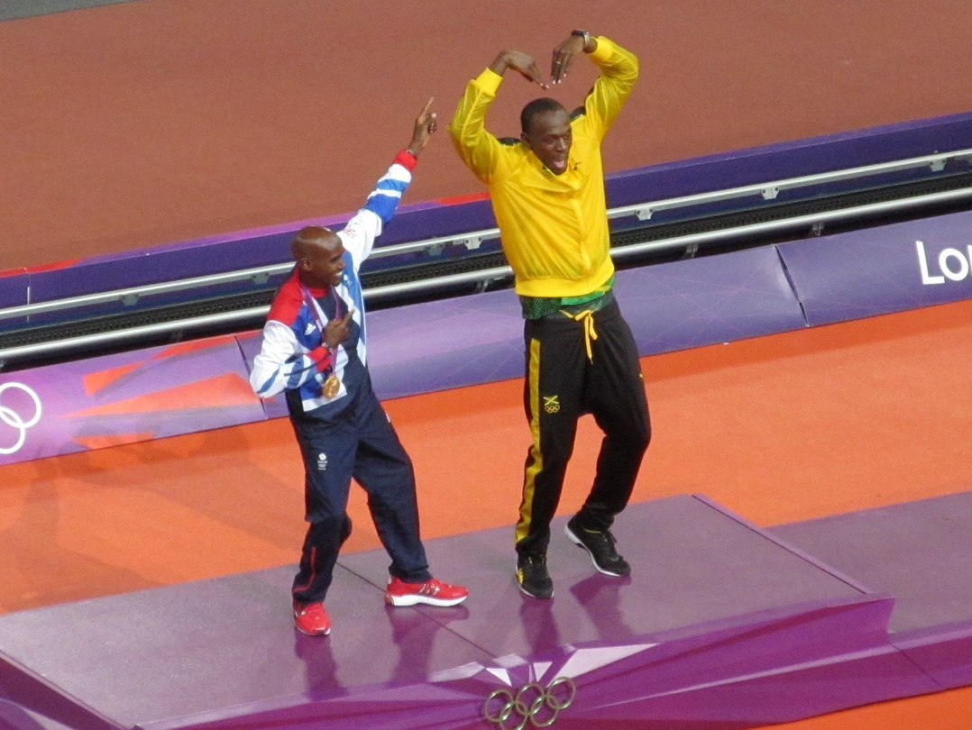 Mo_Farah_and_Usain_Bolt_2012_Olympics_(cropped)