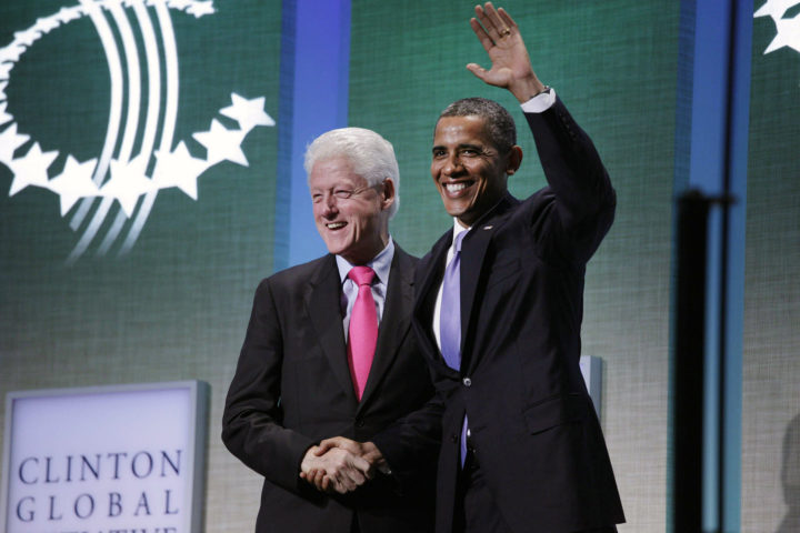 President Barack Obama delivers remarks at the Clinton Global Initiative at the Sheraton New York Hotel and Towers in New York, New York, Sept. 21, 2011. (Official White House Photo by Samantha Appleton)