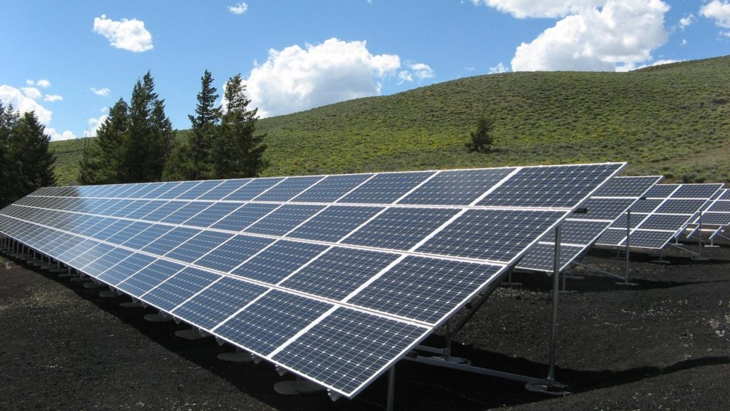 The installation of solar is part of the journey toward inventing a better future