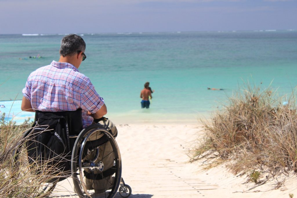 Travelling with limited mobility can be done